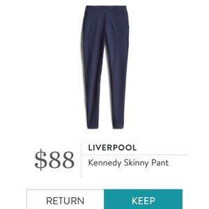 Liverpool Kennedy Skinny Pant (navy)
